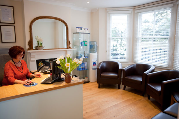 Wheatley Dental Practice Reception And Waiting Room